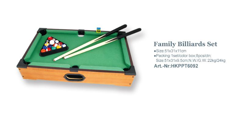 Family Billiards Set_Art.-Nr:HKPPT6092