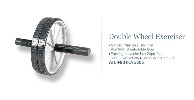 Double Wheel Exerciser_Art.-Nr:HKAB305