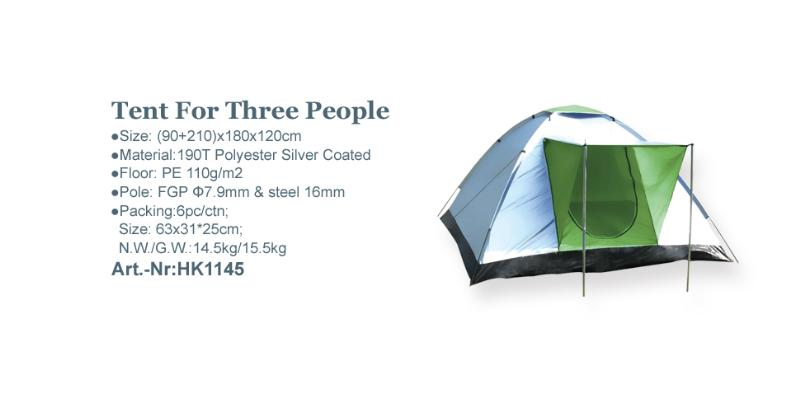 Tent For Three People_Art.-Nr:HK1145