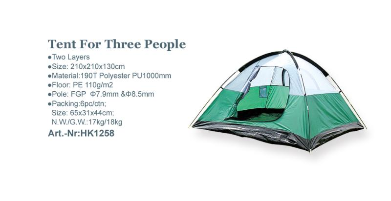 Tent For Three People_Art.-Nr:HK1258