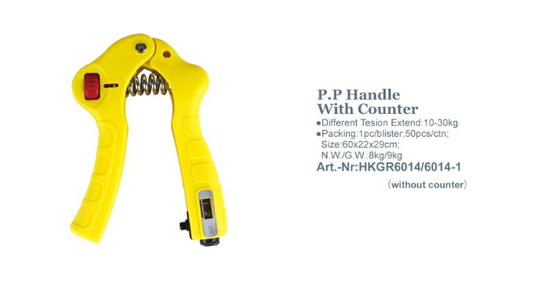 P.P Handle With Counter_Art.-Nr:HKGR6014/6014-1