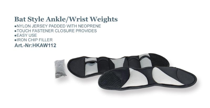 Bat Style Ankle/Wrist Weights_Art.-Nr:HKAW112
