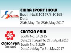 CHINA SPORT SHOW& CANTON FAIR